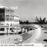 Terraza del Hotel Balneario Mocambo
