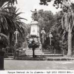 Monumento a Miguel Hidalgo, en la Alameda