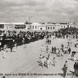Avenida de la Paz durante la inauguración del Hospital O´Horan (1906)