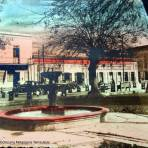 La Plaza de Armas y Hotel Moctezuma Matamoros Tamaulipas