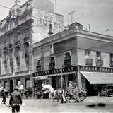 Hotel Cosmos y el crucero Independencia.