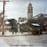 Escena callejera de  Veracruz  (Diciembre de1913 ) .