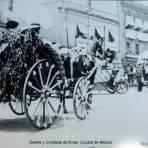 Desfile y Combate de flores  Ciudad de México.