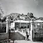 Kiosko y plaza.