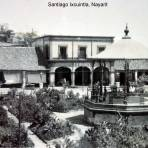 Kiosko y plaza de Santiago Ixcuintla, Nayarit.