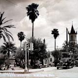 La Plaza de Juarez ( Circulada el 16 de Noviembre de 1938 ).