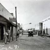 Calle de Allende. - Ciudad Mier, Tamaulipas