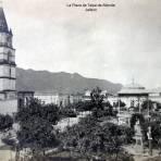 La Plaza de Talpa de Allende Jalisco.