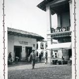 Escena callejera de Taxco, Guerrero ( 1940 ).