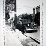 Escena callejera Ciudad de México 1941.