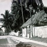 Escena callejera de Veracruz Por el fotografo Hugo Brehme..