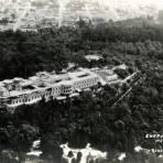 Vista aérea del Castillo de Chapultepec