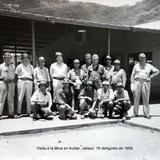 Visita a la Mina en Autlán, Jalisco 16 deAgosto de 1959