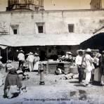 Dia de mercado Ciudad de México.