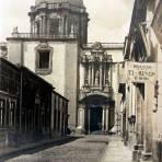 Calle de La Corregidora.