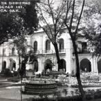Palacio de gobierno y Zocalo.