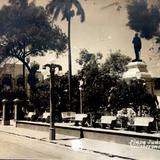 Plaza Juarez ( Circulada el 14 de Septiembre de 1947 ).