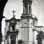 Templo de San Agustin Victoria Durango.