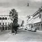 Escena Callejera ( Circulada el 21 de Agosto de 1946 ).