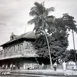 Estacion ferroviaria de Colima.