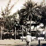 Jardin Alvaro Obregon Manzanillo, Colima .