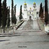 La Iglesia de Cholula, Puebla.