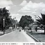 Lado norte de la Alameda.