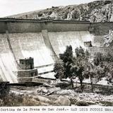Cortina de La Presa de San jose.