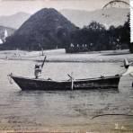 El  lago de Chapala, Jalisco ( Circulada el 24 de Febrero de 1905 ).