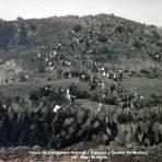 Cerro de Guadalupe Hidalgo ( Tepeyac ) Ciudad de México,  por el Fotografo Hugo Brehme.