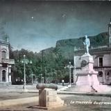 La plazuela ( Circulada el 1 de Febrero de 1951 ).