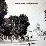 Calle de Hidalgo Irapuato, Guanajuato ( Circulada el 27 de Febrero de 1926 ).