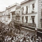 Algun mitin politico (Calle de Tacuba)