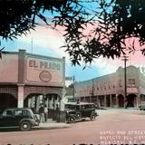 Aspecto del Hotel y calle ( Circulada el 22 de Marzo de 1943 ).