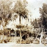 La Plaza Por el fotografo Hopkins . ( Circulada el 13 de Noviembre de 1916 ).