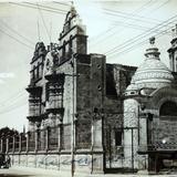 Santuario de Guadalupe Guadalajara . ( Circulada el 23 de Junio de 1921 ).