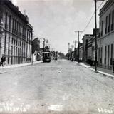 Calles del Chopo Colonia Santa Maria.