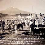 El pueblo de La Mojonera Campo donde se manifesto el Pueblo con motivo del Aniversario de La Revolucion 1934