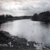 Lago del dique Jalapa Veracruz.