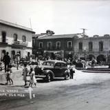 Plaza Lerdo Jalapa Veracruz.