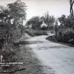 Carretera La Encrucijada .