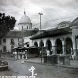 Vista del Mercado.