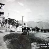 Salida de la carretera ( 1950 ).