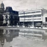 Fuente en la plaza.