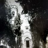 Exterior de La iglesia de Plateros.