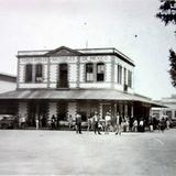 La Estacion ferroviaria.
