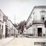 Calle de San Francisco ( Circulada el 10 de Diciembre de 1924 ).