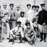 Oficiales federales en Aguascalientes durante La Revolucion Mexicana.
