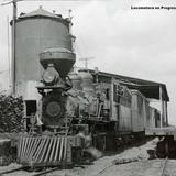 Locomotora en Progreso Yucatan.