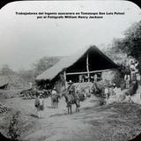 Trabajadores del Ingenio azucarero en Tomasopo San Luis Potosi por el Fotógrafo William Henry Jackson.